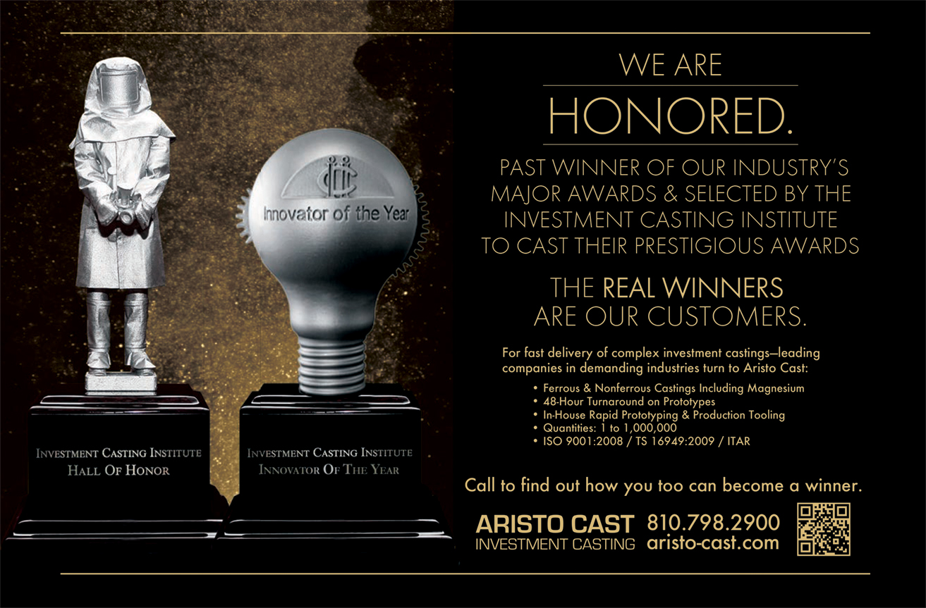 Aristo Cast Honored